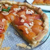 Tarte abricot-basilic, originale et prête en 10 min !