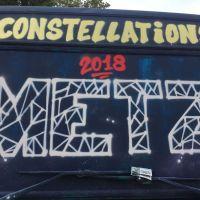 Parcours Street Art dans le cadre du festival Constellations