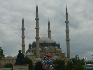 La grande mosquée d'edirne impressionante