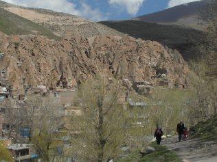 Kandovan, un village toglodyte