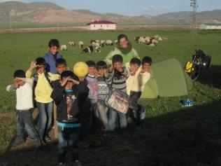 Premier contact avec les kurdes