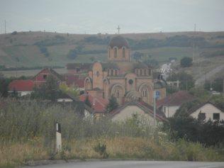 Une église orthodoxe au Kosovo