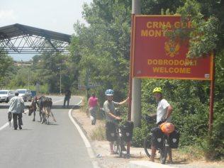 Entrée au Monténégro