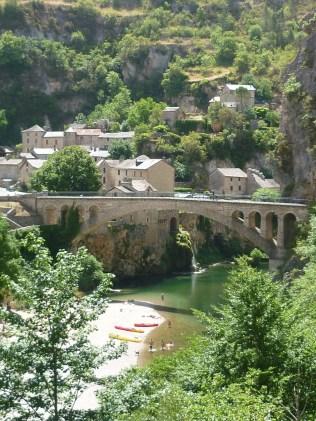 Les gorges du Tarn: Saint Chely du Tarn