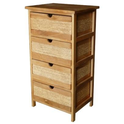 meuble-4-tiroirs-bois-naturel