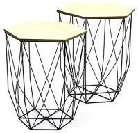table-gigogne-filaire-noire