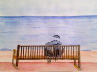 Comment peindre rapidement un homme face à la mer