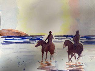 Comment peindre un paysage romantique rapidement