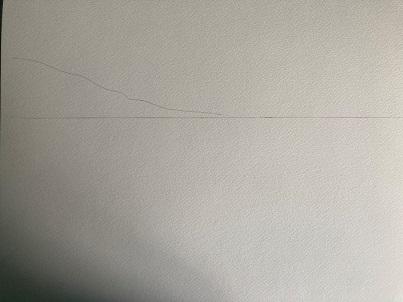 Comment dessiner un voilier sur la plage facilement.