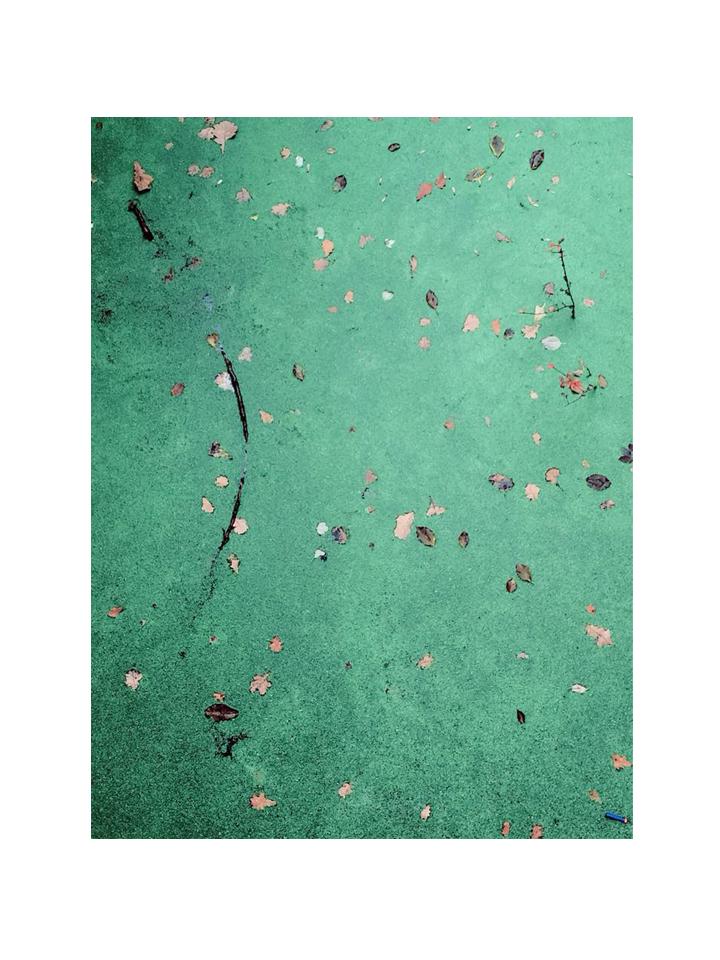 Photographie l-eau couleur par Anna Yurienen Gallego artiste photographe
