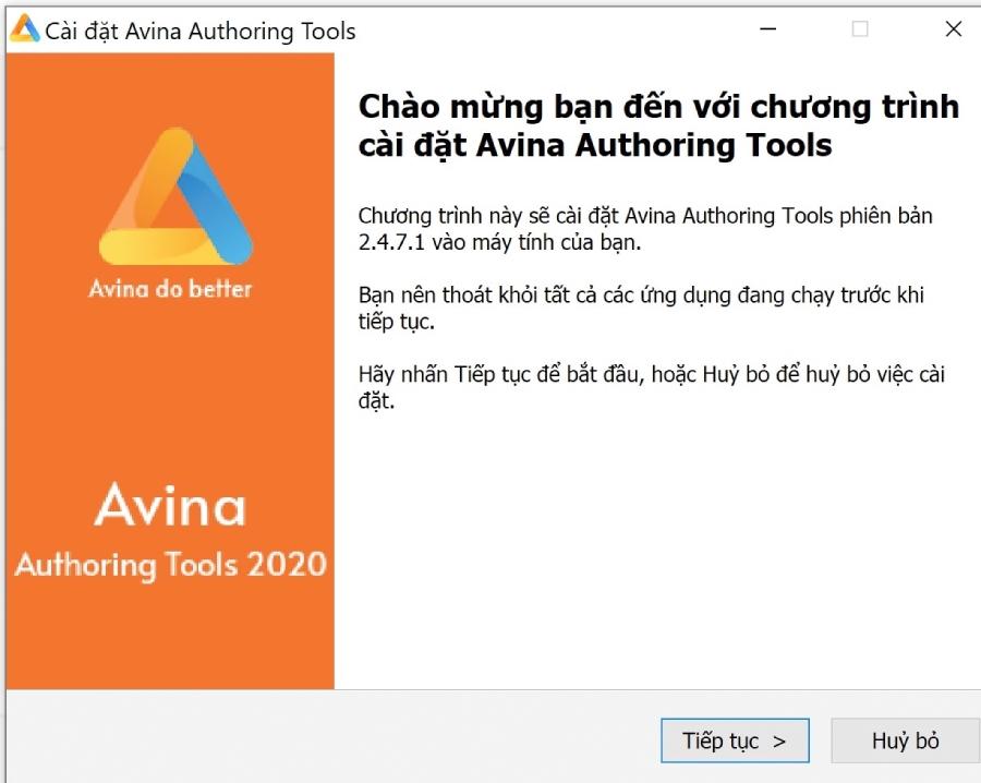 Phần mềm tạo bài giảng online Avina Authoring Tools Pro