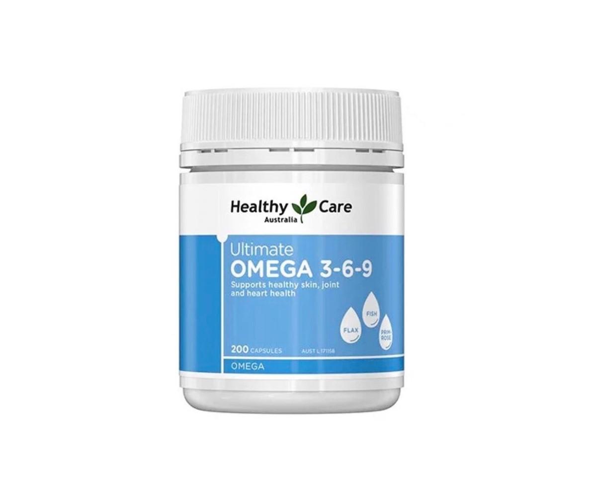 Viên dầu cá Omega 3-6-9 (Australia) chăm sóc sức khoẻ tối ưu