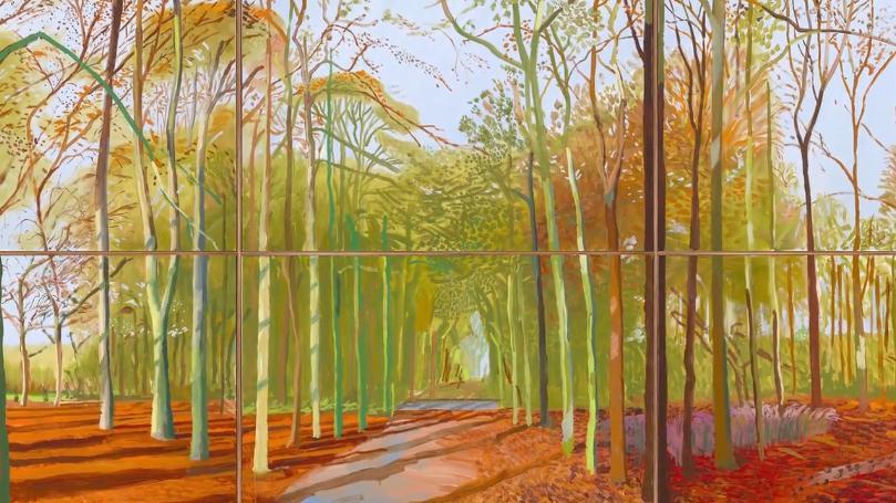 La Royal Academy de Londres consacre David Hockney  Critique  ToutelacultureLa Royal Academy