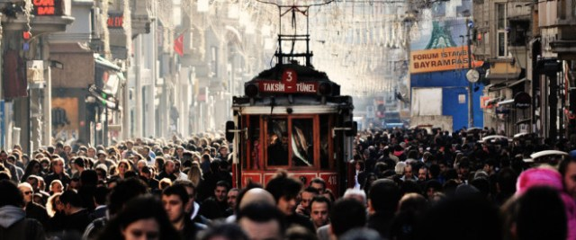 La Rue Istiklal Istanbul