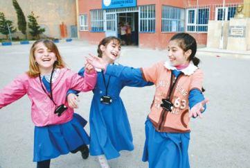 les écoliers en Turquie