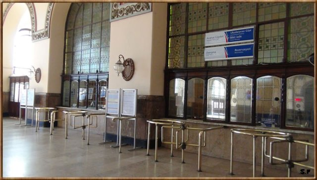 la gare de Haydarpasa à Istanbul