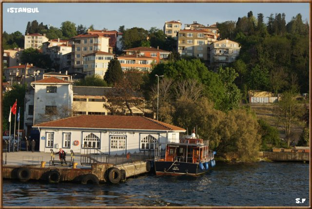 Le Quartier Pasabahce, le Bosphore Istanbul