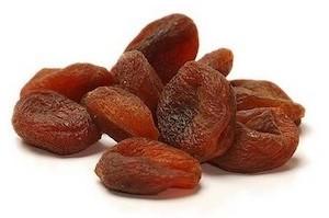 abricots secs bruns