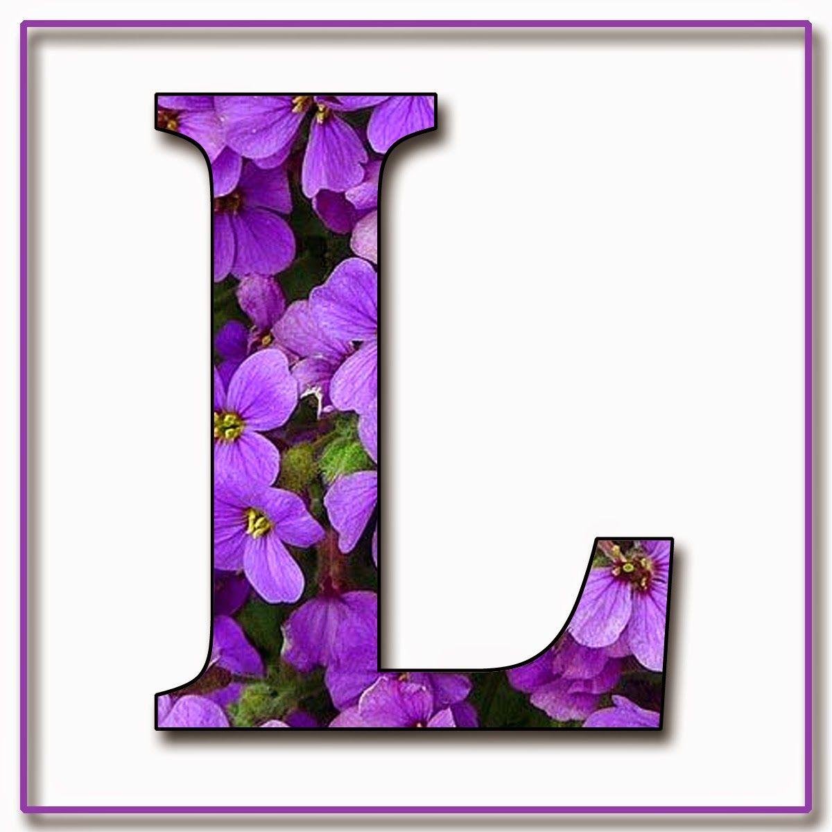 Alphabet Fleuri 24 10