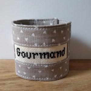 """Rond de serviette - """"Gourmand"""" - Art de la table"""