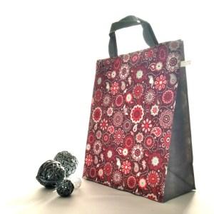 Emballages - Sacs à cadeaux - Mandalas - Rouge Taupe