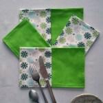 Mandalas - Gris-vert-blanc