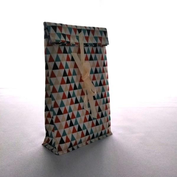 Emballages - Pochettes cadeaux - Triangles - Multicolore