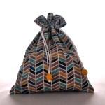 Sacs en tissu - Sacs Pochons - Triangles Graphiques