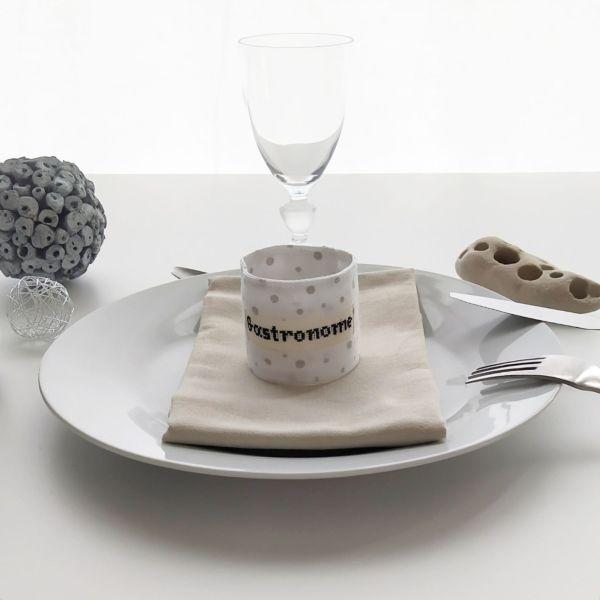 Art de la Table - Ronds de Serviette - Gastronome