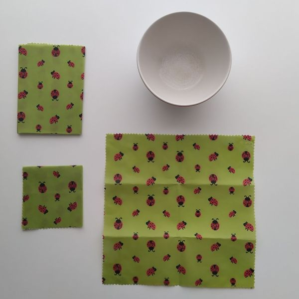 Emballages Alimentaires - Bee Wraps - Coccinelles