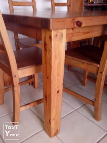 table pin massif ikea forsby 6