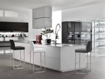 denmark white stainless steel counter