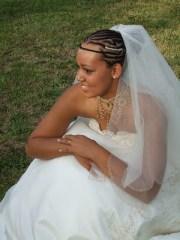 gorgeous african american wedding