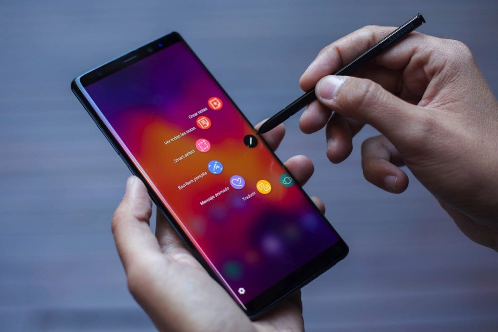 Обзор на реплику Samsung Galaxy note 9