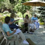 workshop in the garden