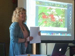 Tova at April Garden Club Presentation