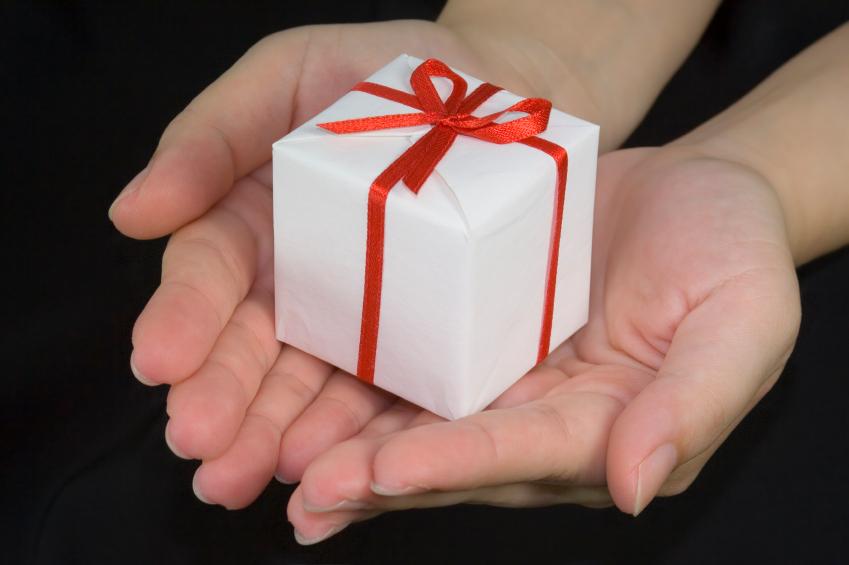 En gave kan være med til at motivere deltagere