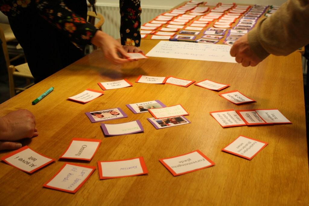 Spillere udvikler ideer af høj kvalitet ved hjælp af Tovejs' dialogspil.