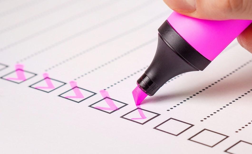 Test om du skal lave et spørgeskema