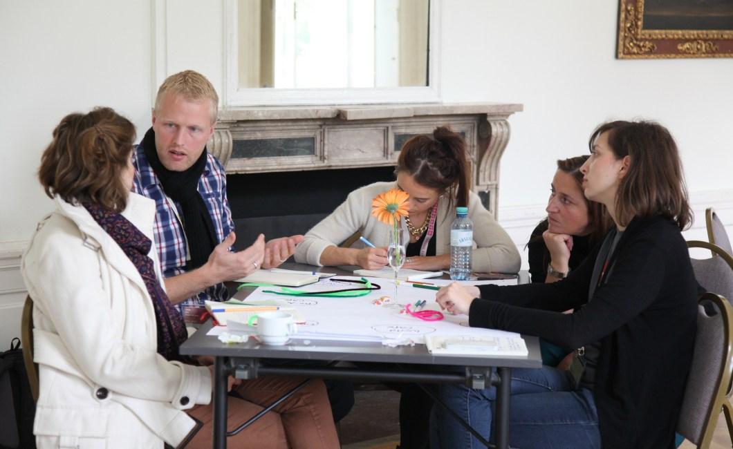 Der er mange fordele ved co-creation, hvilket deltagerne i denne workshop givetvis drager nytte af.