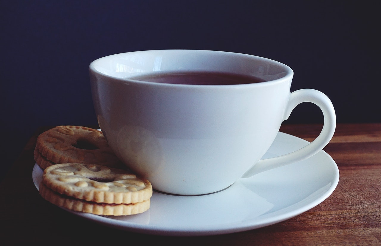 Ved et videointerview kan du ikke bruge kaffe til at skabe en afslappet stemning.