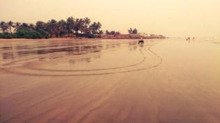 Evening at beach