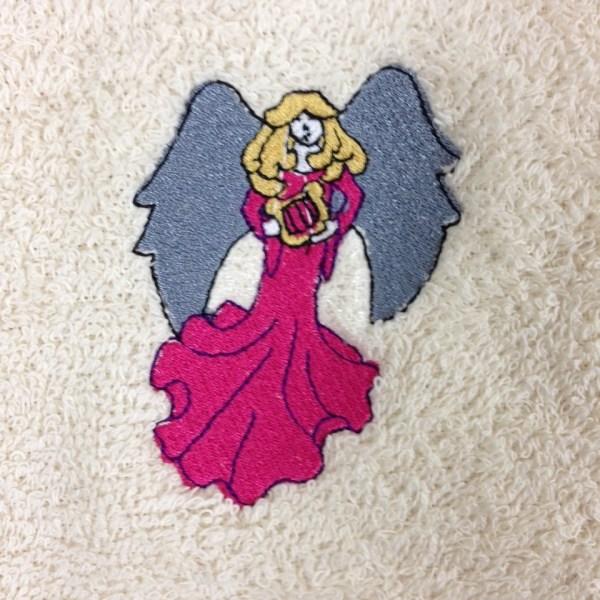 Custom Embroidery - Christmas Angel