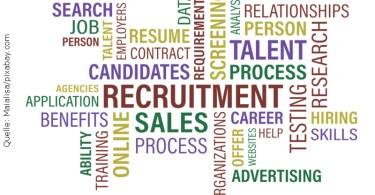 Recruiting; Quelle: Maialisa/pixabay.com