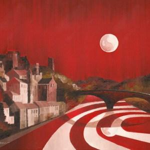 Full Moon over Durham City