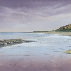 037-Evening Sky, Bamburgh
