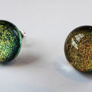 Rosie Waites fused glass studs