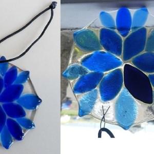 Rosie Waites Small blue flower3