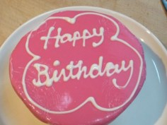 "Birthday ""cake"""
