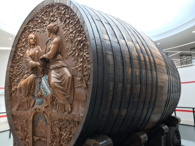 Largest champagne barrel in the world